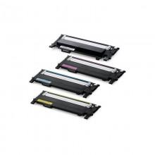 Заправка картриджа Samsung CLT-406S CMYK для моделей CLP 365, SLX 3300/3305, Xpress C410/460 (ресурс 1500/1000 страниц)