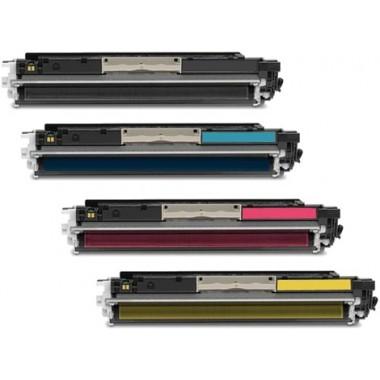 Заправка картриджа c чипом Hewlett-Packard CE311/312/313A (126A) для моделей CP1025, M175/275 (ресурс 1200/1000 страниц)