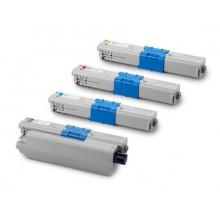 Заправка картриджа с чипом Oki 44973541/44973542/44973543 для моделей C301/321, MC332/342 (ресурс 1500 страниц)