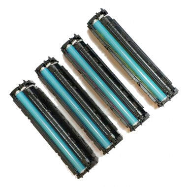 Заправка картриджа Hewlett-Packard CF540/cf541/cf542/cf543A (203A) для моделей Color LaserJet Pro M254, MFP M280/281 (ресурс 1400/1300 страниц)