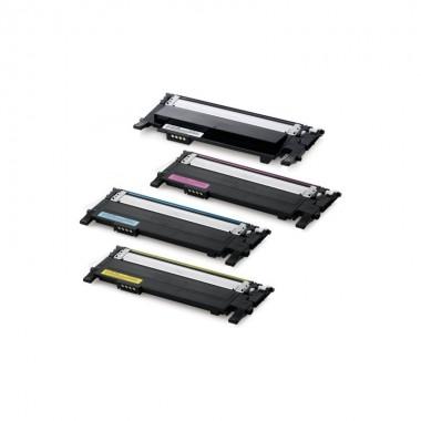 Заправка картриджа Samsung MLT-K/C/M/Y406S для моделей SLX 3300/3305, Xpress C410/460, CLP 365 (ресурс 1500/1000 страниц)