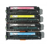 Заправка картриджа c чипом Hewlett-Packard CB540A (125A) для моделей CP 1215/1515, CM 1312 (ресурс 2200 страниц)