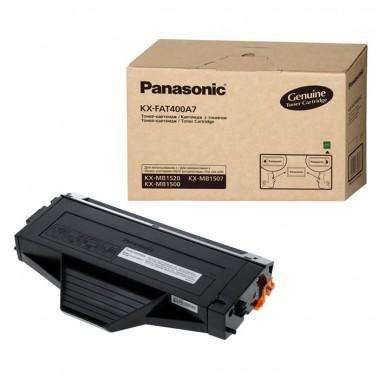 Заправка картриджа с чипом Panasonic KX-FAT400/410A для моделей KX-MB1500/1507/1520/1530/1536/1537  (ресурс 1800/2500 страниц)