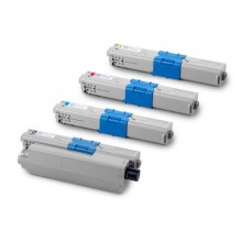 Заправка картриджа с чипом Oki 44973541/44973542/44973543 для моделей C301/321, MC332/342 (ресурс 2500/1500 страниц)
