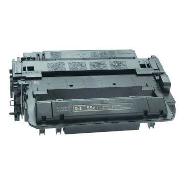 Заправка картриджа Hewlett-Packard CE255X (55X) для моделей Laser Jet P3015, M521/525  (ресурс 12500 страниц)