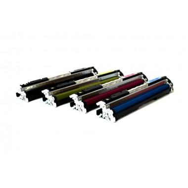Заправка картриджа c чипом Hewlett-Packard CF351/352/353A (130A) для моделей LaserJet Pro M176/177 (ресурс 1000 страниц)